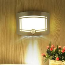 Seinävalaisin liiketunnistimella - LED paristokäyttöinen
