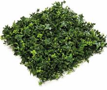 Emerald Konstväxt blandad grönska mattor 4 st grön 50x50 cm 417983