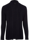 River Island Mens Big and Tall Navy cable knit car