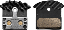 Shimano J02A Resin Bromsbelägg 1 Par, Kylflänser, XTR/XT/SLX/Alfine