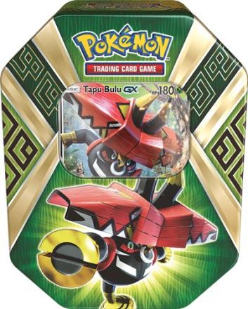 Pokemon - Summer Tin Island Guardians - Tapu Bulu GX