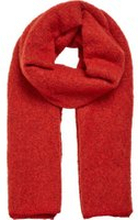 VILA Strick Schal Damen Rot