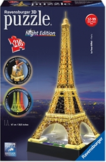 Pussel 3D Eiffel Tower N.Edition
