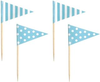 JaBaDaBaDo - Partypicks 16-pack (Ljusblå)