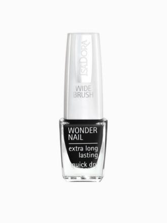 Isadora Wonder Nail Black Lacquer