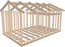 Byggstommar i Mönsterås Attefallsstomme Classic 25