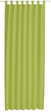 Kant en Klaar Gordijn Met Lus Groen - 140cm x 260cm