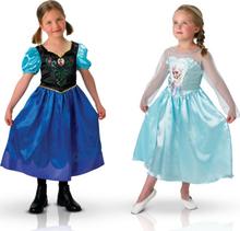 Duo dräkt Frost Anna och Elsa