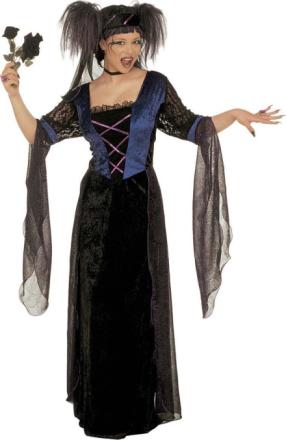 Kostume gotisk prinsesse voksen halloween S - Vegaoo.dk