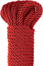 Pipedream Fetish Fantasy: Deluxe Silky Rope, röd, 9.75m