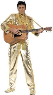 Guld kostym Elvis Presley Elvis kostym kostym kostym