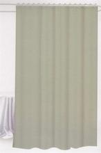 Badeforhæng - Lys grå - 180x180 cm. - Inklusiv 12 plastik ringe - Klar til ophæng