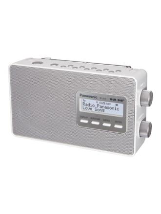 DAB bærbar radio -RF-D10EG - DAB/DAB+/FM - Mono - Hvid