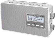 Bærbar radio -RF-D10EG - DAB/DAB+/FM - Mono - Hvid