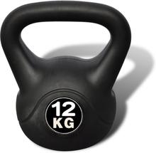 vidaXL Kettlebell plasthölje 12 kg