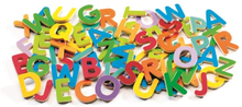 Djeco - 83 Small Wooden Magnet Letters