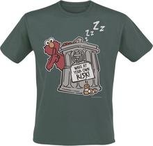 Sesam Stasjon - Elmo - Own Risk -T-skjorte - khaki