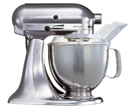 KitchenAid Artisan 175 Køkkenmaskine 4,8 liter Krom