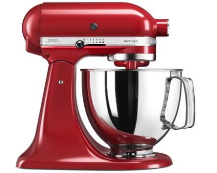 KitchenAid Artisan 125 Køkkenmaskine 4,8 liter Rød