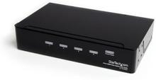 HDMI-splitter och signalförstärkare med 4 portar