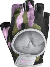 Nike W Printed Gym Ultimate Fitness Gloves Träningstillbehör CLUB GOLD/WOLF GRE