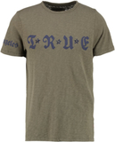 True Religion NIETEN Tshirt med tryck army green