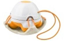 (99) Medisana HM 840 Hand Massager with Loofah Pad (orange)