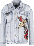 True Religion TRUCKER Jeansjacka blue denim