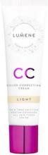 Lumene CC Color Correcting Cream SPF 20 Foundation Light