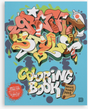 Dokument Press - Graffiti Style Coloring Book - Multi - ONE SIZE
