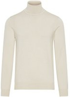 J.LINDEBERG Lyd True Merino Sweater Mænd White