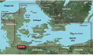 Denmark East-Sweden Southeast Garmin VEU021R - BlueChart g2 Vision mSD/SD