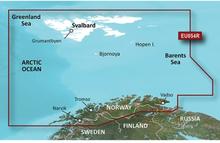 Vestfjord-Svalbard-Varanger Garmin VEU054R - BlueChart g2 Vision mSD/SD