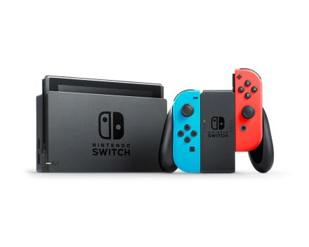 Switch - Neon Röd & Blå