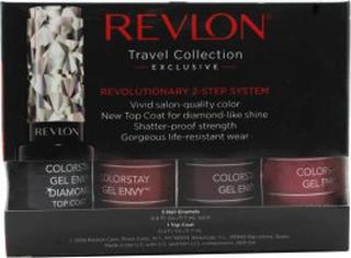 Revlon ColorStay Gel Envy 3+1 Presentset 3 x 11.7ml Nagellack + Top Coat