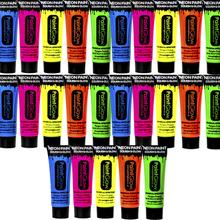 UV kropp & ansiktsmålning för 25 personer
