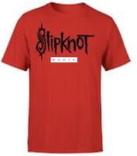 Slipknot W.A.N.Y.K T-Shirt - Red - S
