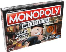 Hasbro Gaming - Monopoly - Cheaters Edition DK/NO (E1871)