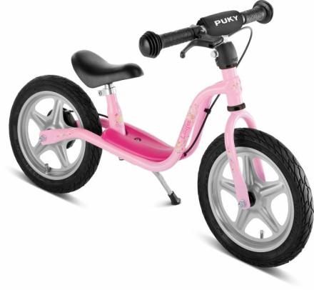PUKY LR 1L BR Løbecykel m. bremse, Pink