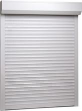 vidaXL Rulljalusi aluminium 130x140 cm vit