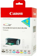 CANON Blækpatron MultiPack Bk,C,M,Y,LC,LM, GY,LGY, I
