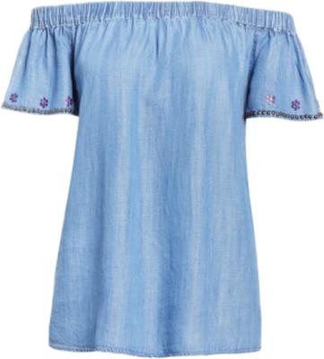 True Religion CARMEN Blus vintage blue