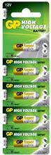 GP BATTERIES GP Alkaliska Specialbatterier 12V, 27A, 5-pack 17736 Replace: N/AGP BATTERIES GP Alkaliska Specialbatterier 12V, 27A, 5-pack