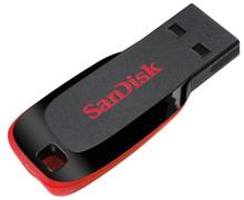 SANDISK SanDisk USB -muistikortti 2.0 Blade 16 Gt