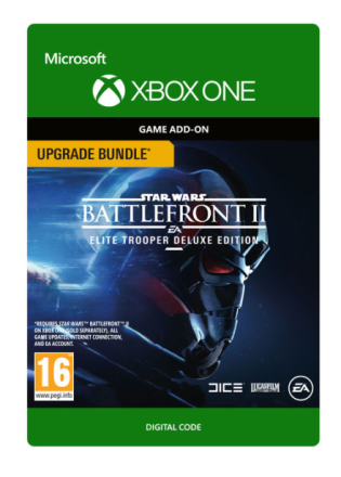 STAR WARS Battlefront II Elite Trooper Deluxe Edition Upgrade Bundle - CDON.COM
