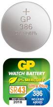 GP BATTERIES GP 386F / SR43W 101027 Replace: N/AGP BATTERIES GP 386F / SR43W