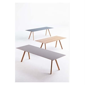 Hay bord - CPH30 Copenhague table 200 x 90 cm - linoleum grey