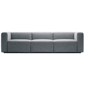Hay - Mags sofa - 3 personer (grå uld)