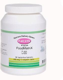 NDS C-200 - C vitamin, 90 Tab