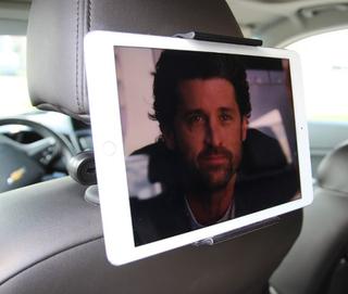 Bilhållare för iPad & läsplatta